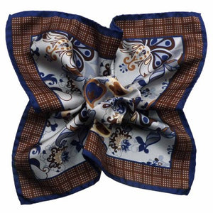 Pattern Silk Printed Pocket Squares
