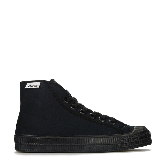 Novesta Star Dribble All Black Canvas Sneaker