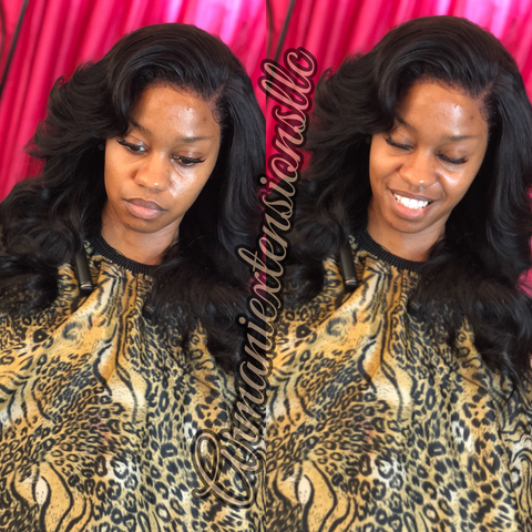 Lace Frontal Install