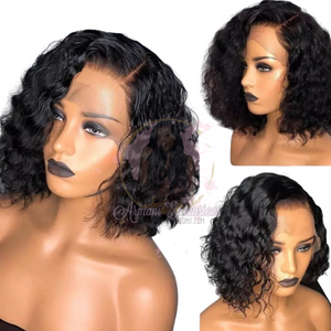 Lace Frontal Deep Wave  BoB Wig