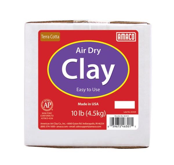 Amaco-Air-Dry-Clay-Gray