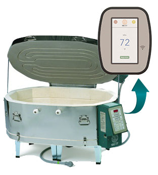 Skutt GMT-1414 Glass Kiln with Digital Touchscreen Controller
