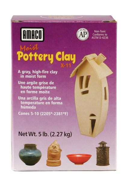 Amaco-X-11-Amaco-Moist-Pottery-Clay-X-12,-X-15