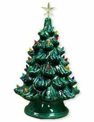 bigceramicstore-com,Bisque Imports 2034 Bisque Lighted Christmas Tree,Bisque Imports,Clay - Bisque