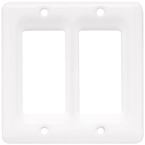 bigceramicstore-com,Bisque Imports 905 Bisque Double Rocker Plate,Bisque Imports,Clay - Bisque