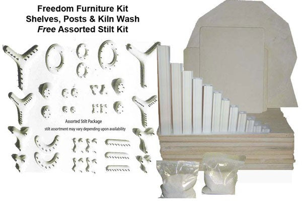 Olympic Freedom 1823HE PKG Electric Ceramic Kiln image 4