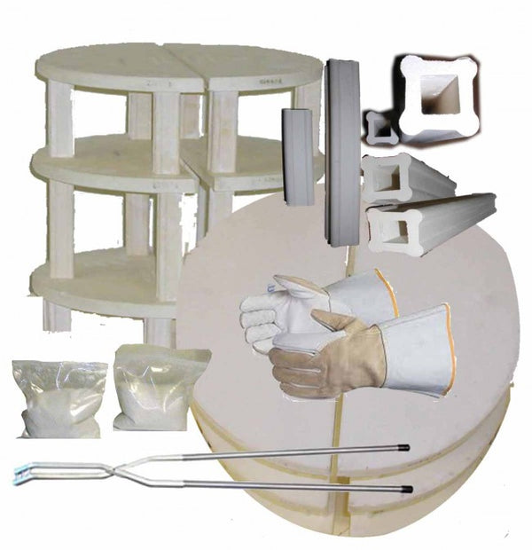 "Olympic Furniture Kit for 23"" Gas Kiln image 1"