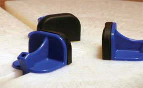 bigceramicstore-com,Giffin Blue Flex Slider with Molded Pad - Set of 3,Giffin,Tools - Throwing
