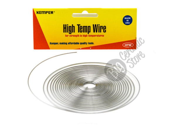 bigceramicstore-com,Kemper HTW High Temp Wire, 17 Gauge,Kemper,Tools - Firing Supplies