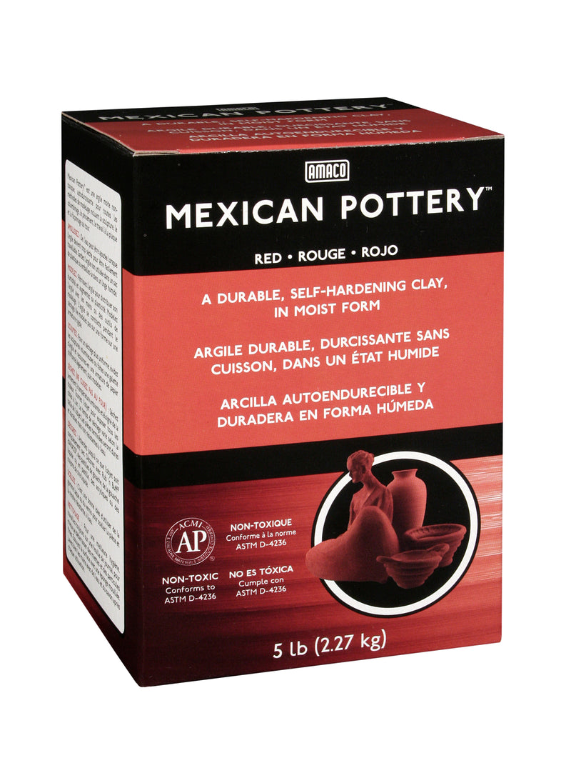 bigceramicstore-com,Amaco Mexican Pottery Clay,Amaco,Clay - Self-Hardening