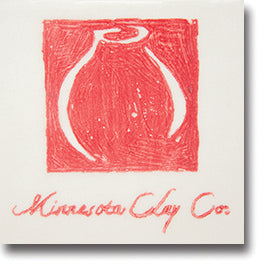Minnesota Clay Company - Graffito Underglaze Transfer Paper, 6 sheets Red image 1