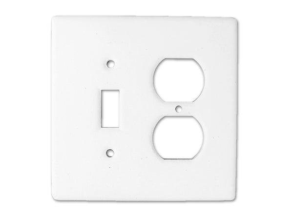 bigceramicstore-com,Bisque Imports 907 Bisque Single Switch/Outlet Cover,Bisque Imports,Clay - Bisque