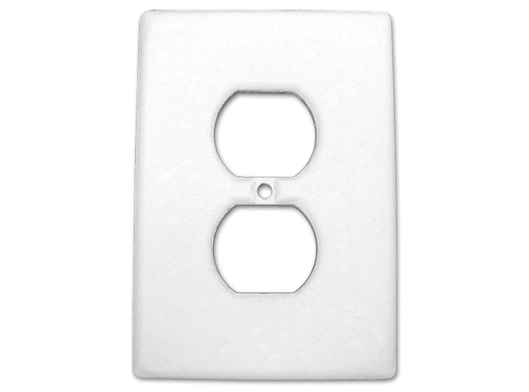 bigceramicstore-com,Bisque Imports 903 Bisque Outlet Cover,Bisque Imports,Clay - Bisque