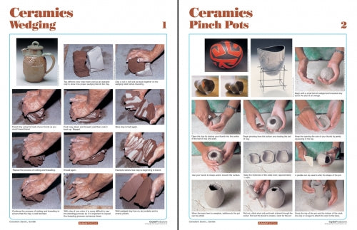 bigceramicstore-com,Amaco How-To Posters, Set of 14,Amaco,Tools & Supplies
