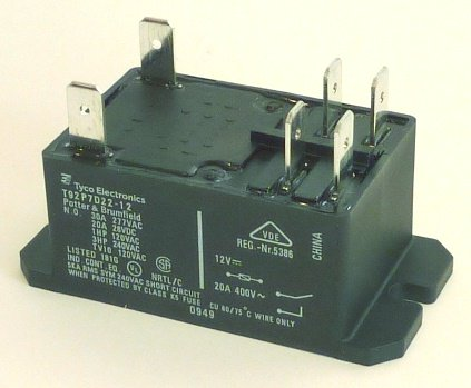 Skutt Relay, 20 Amp (Black Case) image 1