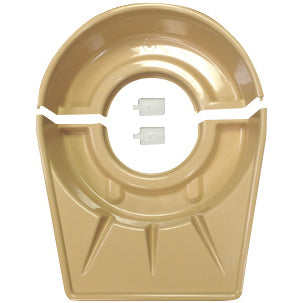 Shimpo Two-Piece Splash pan with Clips image 1