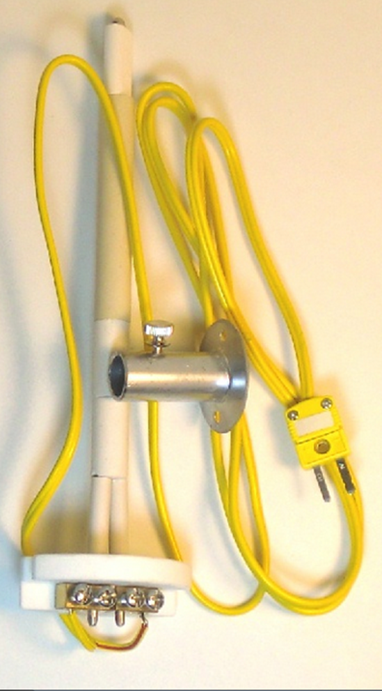 "6"" Thermocouple Assembly for Skutt Dual-Input Digital Pyrometer image 1"