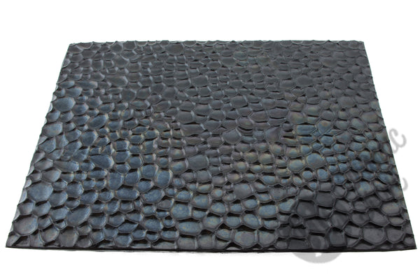 Chinese Clay Art XL USA Plastic Texture Mats, Rocks Pattern image 1