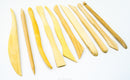 "bigceramicstore-com,Chinese Clayart 8"" Modeling Tools, Set of 10,Chinese Clay Art,Tools - Sets"