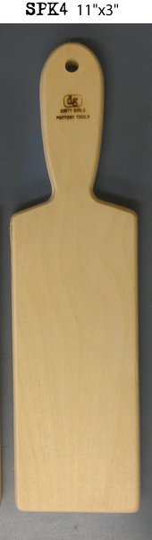 "bigceramicstore-com,Dirty Girls 11""x3"" Rectangular Paddle,Dirty Girls,Tools & Supplies"