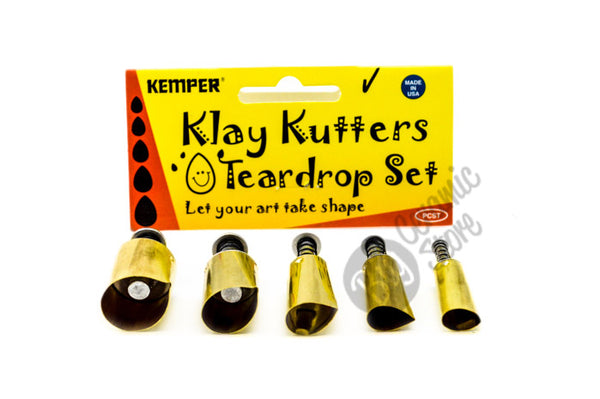 Kemper Teardrop Pattern Cutter Set image 1