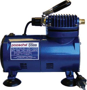 Paasche D500 Air Compressor image 1