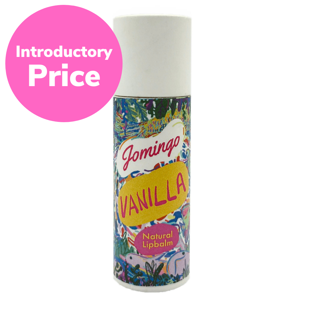 Introductory Price! Vanilla Natural & Vegan Lip Balm