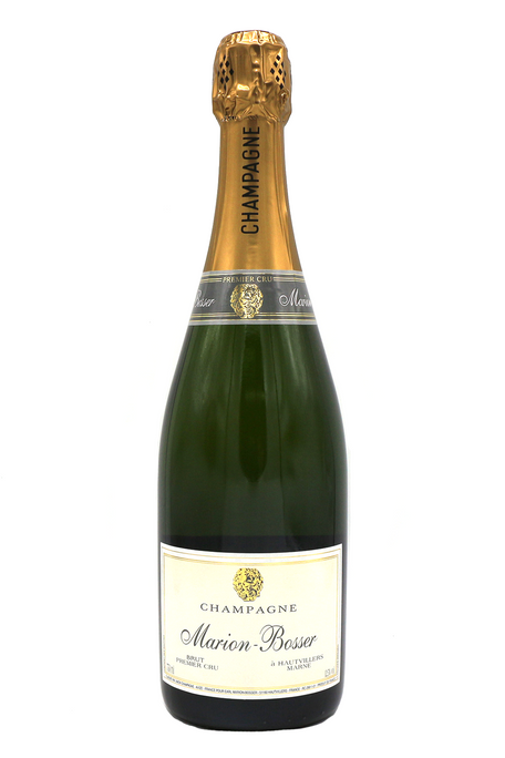 marion bosser, female winemaker, brut, Hautvillers, premier cru, France, dry, crisp, light-bodied, dry, complex, family winery, boutique, aperitif, bubbles, bubbly, celebration, oysters, canapés, caviar, creme fraiche, grower champagne, oysters, carpaccio, hamachi crudo
