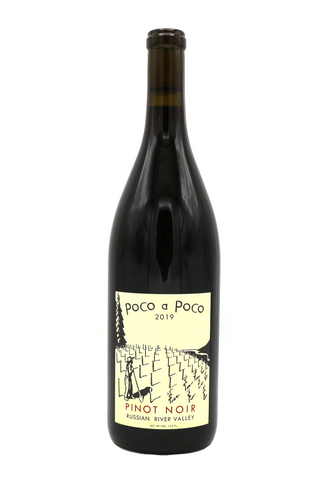 POCO A POCO, PINOT NOIR 2019, RUSSIAN RIVER VALLEY, CALIFORNIA