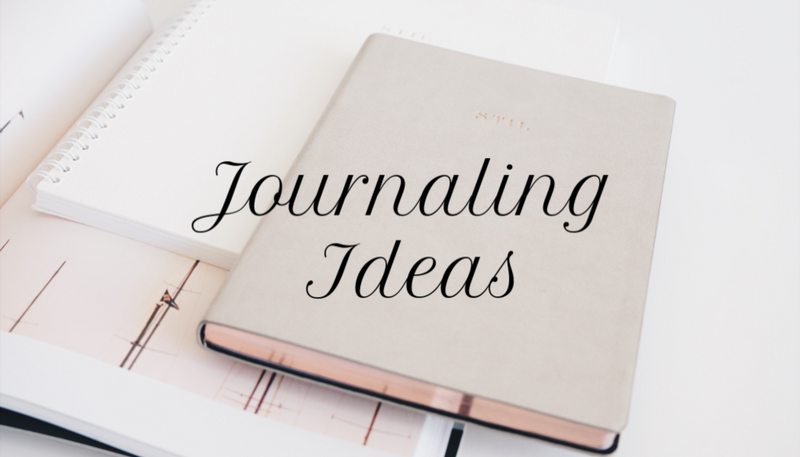 8 Journaling Ideas to Try Right Now