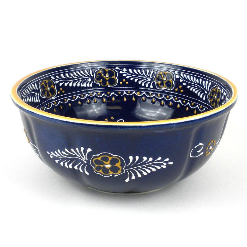 Large Bowl - Blue Handmade and Fair Trade