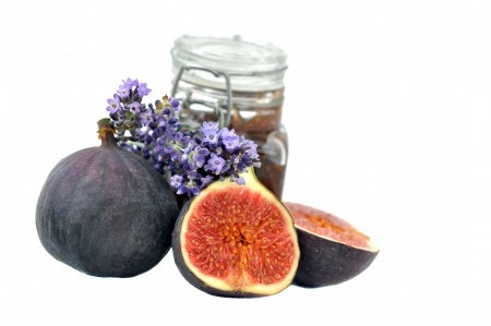 Fig Lavender Natural Soy Candle