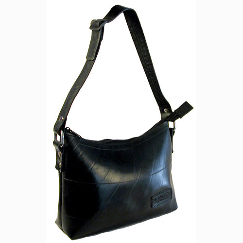 Adela Recycled Tire Handbag from El Salvador
