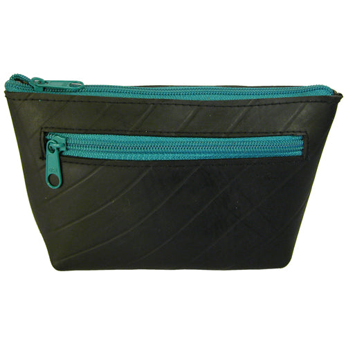 Recycled Tire Cosmetic Pouch from El Salvador