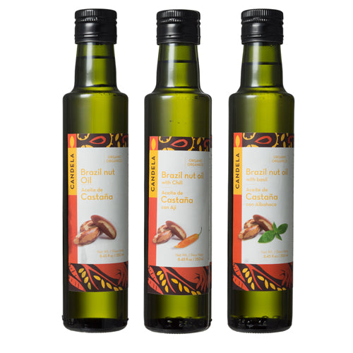 Organic Brazil Nut Oil from Peru