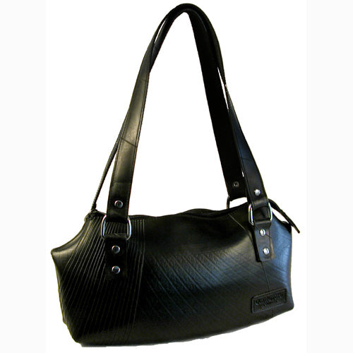 Ada Recycled Tire Handbag from El Salvador