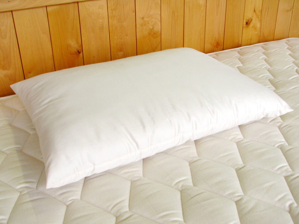 Wool-Filled Bed Pillow