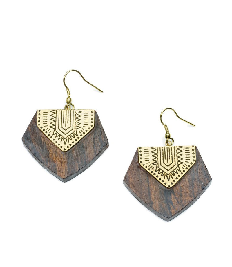 Durga Shield Earrings - Matr Boomie (Jewelry)