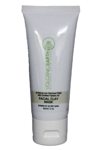 Facial Clay Mask With Tamanu Oil  2.03 ounces or 60ml