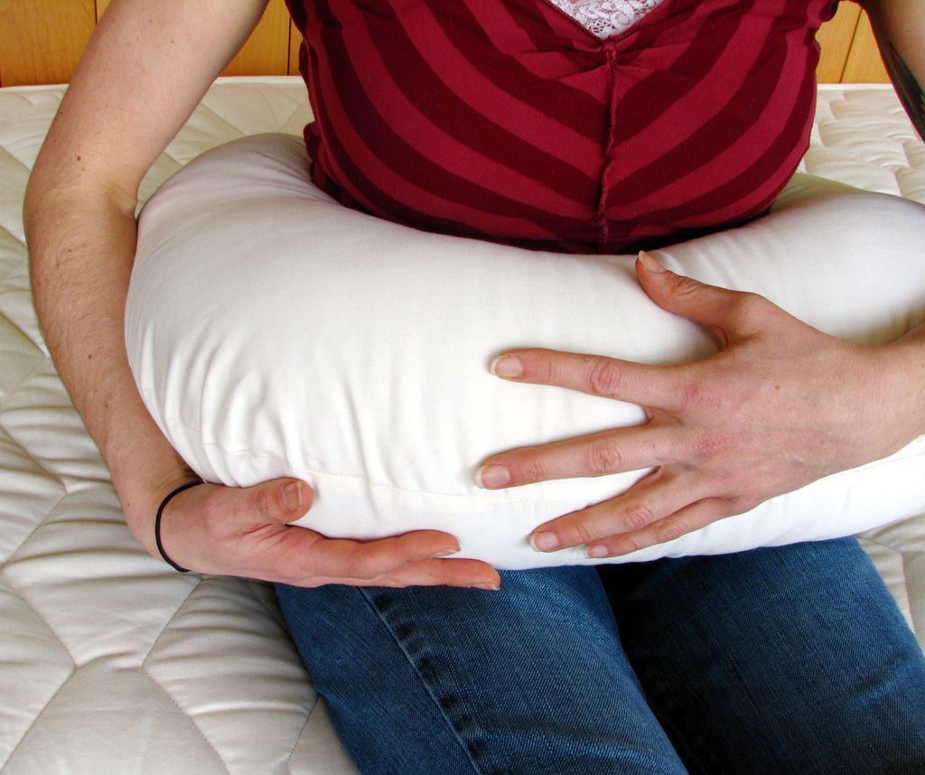 Wool-filled Nursing Pillow