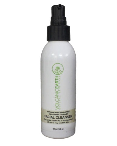 Natural Facial Cleanser 4.56 oz or 135 ml