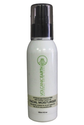 Natural Facial Moisturizer with Tamanu Oil  4.56 oz or 135 ml