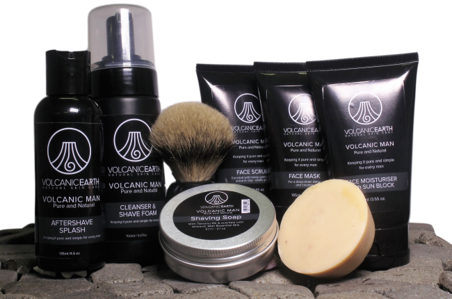 MEN'S FACE CARE GIFT SET  (with Tamanu oil)