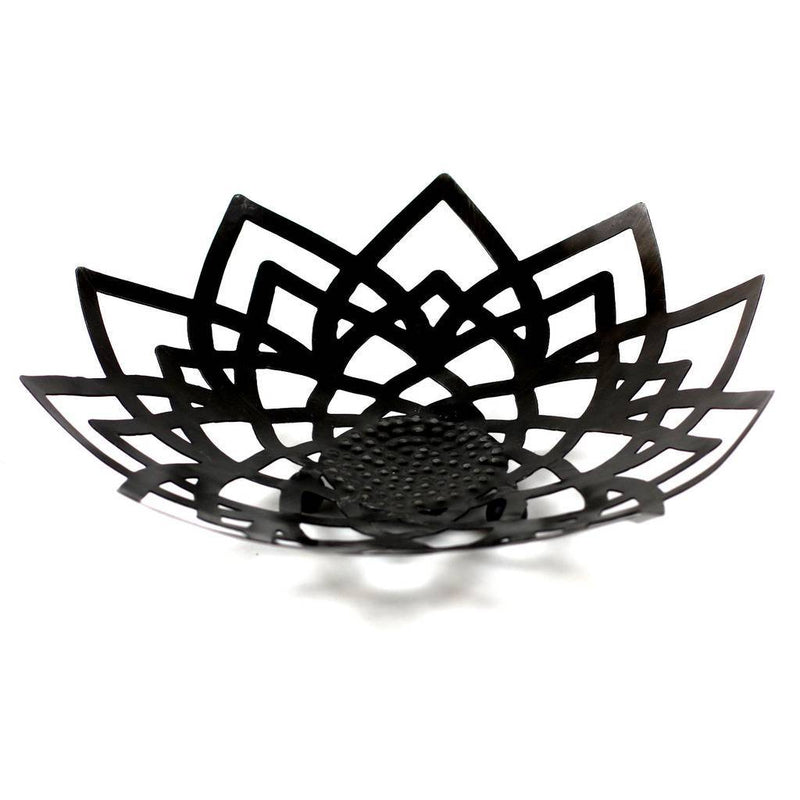 Recycled Metal Lotus Bowl - Mira Bowl