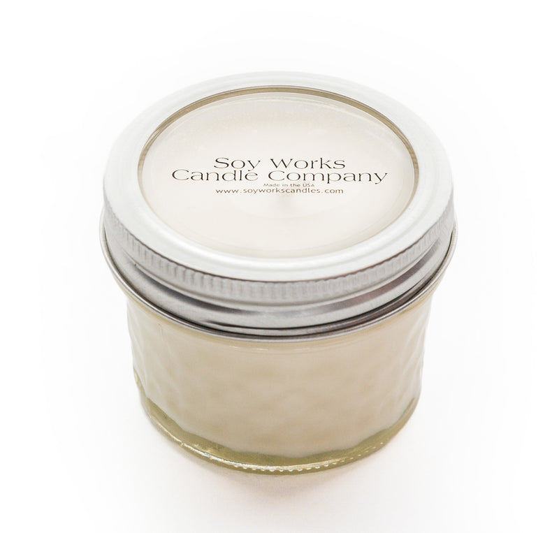 Fig Basil Natural Soy Candle