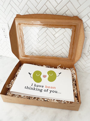 """I've Bean Thinking of You"" Giant Card"