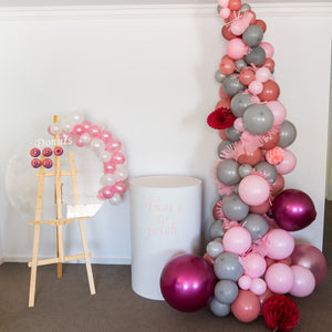 Plinth, Donut Wall and Balloon Tower Fancy Package
