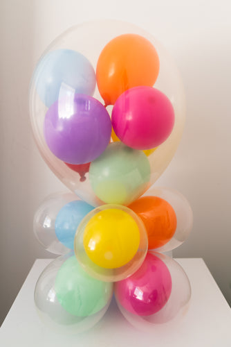 Balloons Inside Balloons - Table Decor