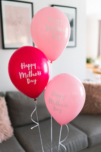 Mother's Day - Helium Bouquet of 3