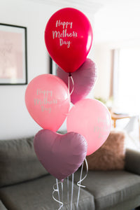 Mothers Day - Helium Bouquet of 5
